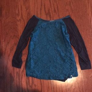 Market and spruce long sleeved top